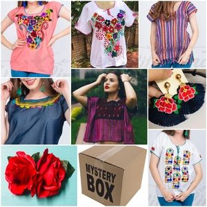 Mexican Artisan Clothing & Accessories Mistery Box